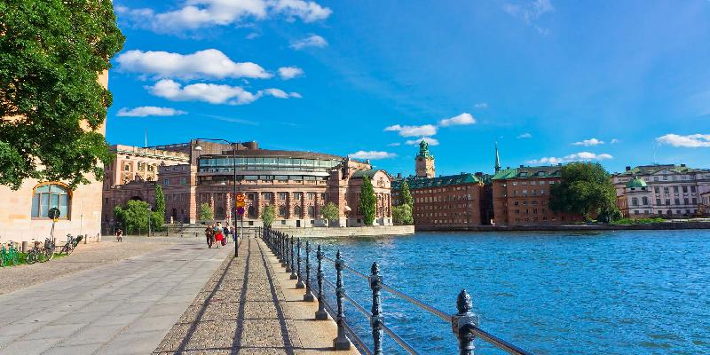 Amazing view of Stockholm Old Town