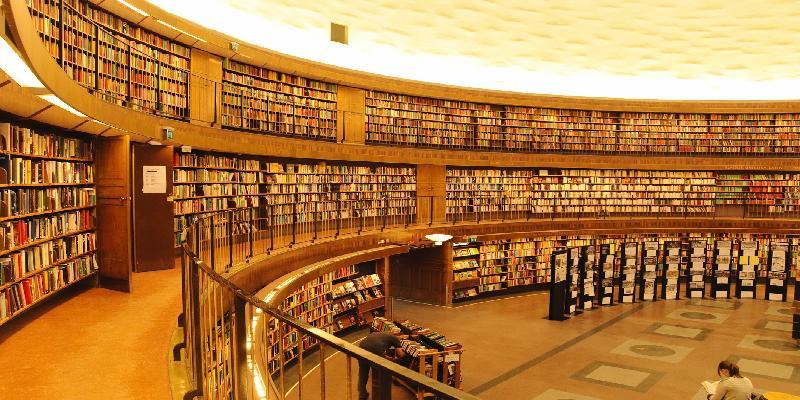 Librery in stockholm