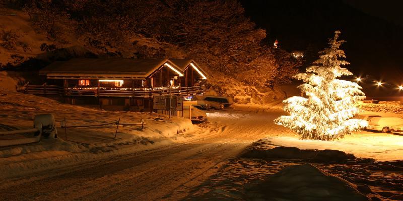 Winter night in stockholm
