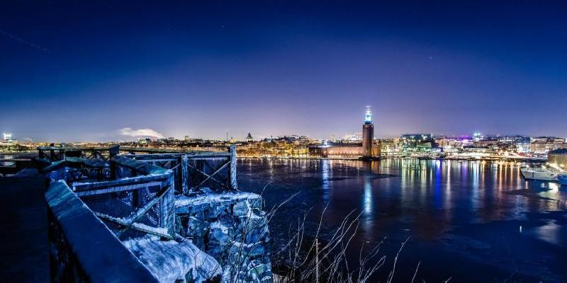 Wonderful view in stockholm