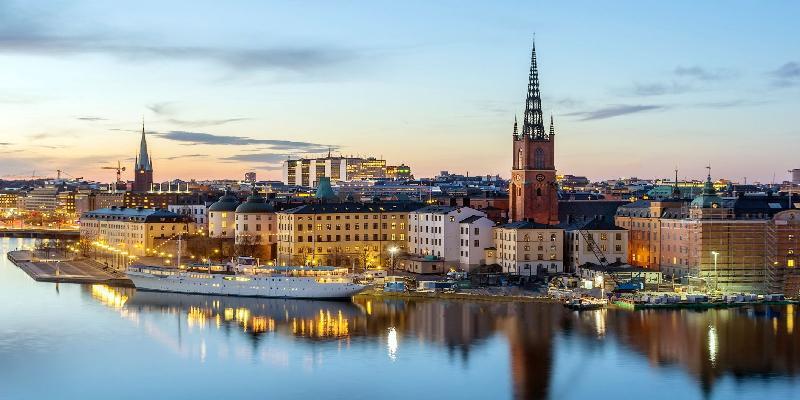 beautiful city stockholm