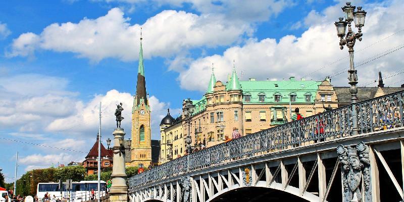 beautiful stockholm bridges