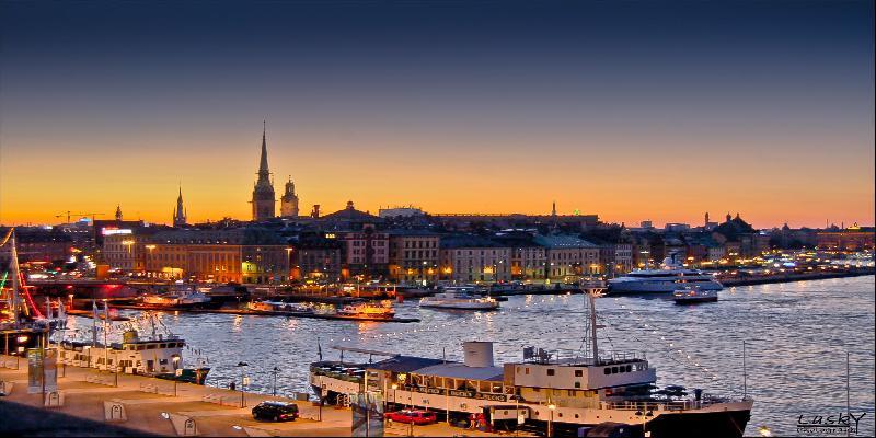 boat station in stockholm