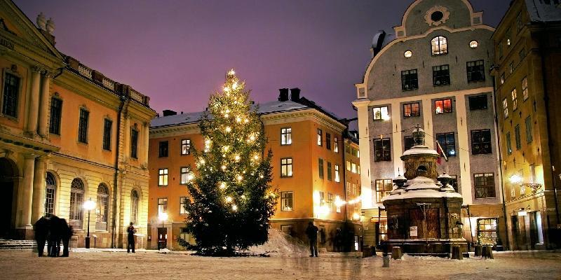 chirstmis in stockholm