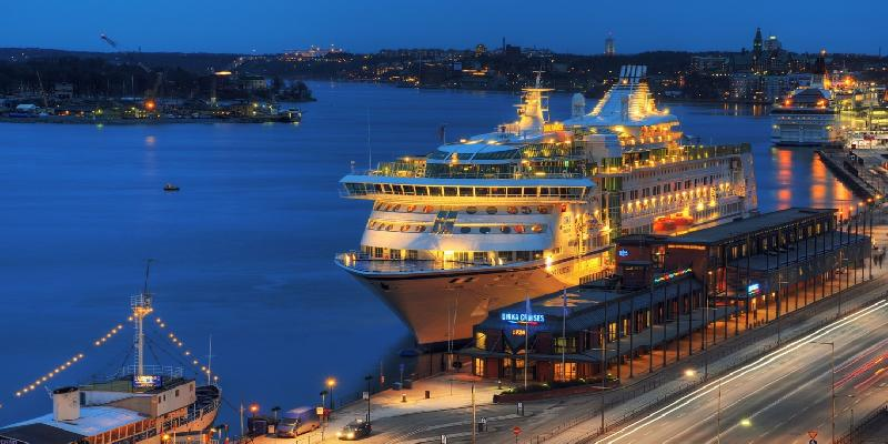 evening view in stockholm