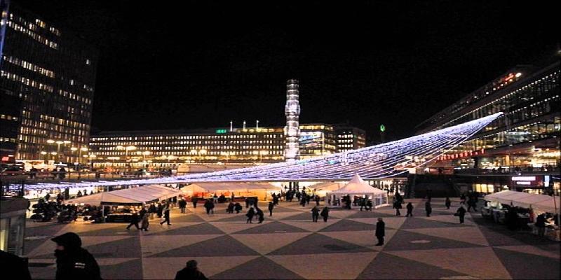 night view stockholm