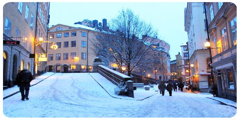 perfect weekend winter in stockholm