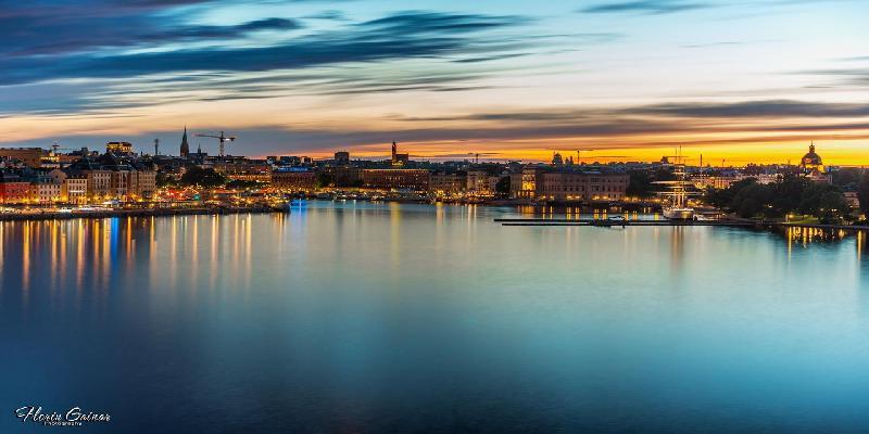 stockholm summer night