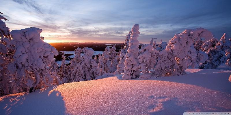 winter lapland finland