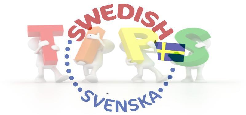 Traveler Swedish Language Tips