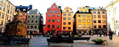Stockholm Gamla Stan District