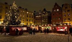 Christmas market - Stockholm