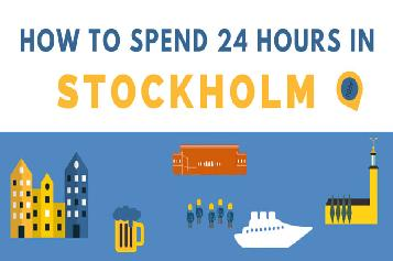 Spend 24 Hours in Stockholm