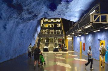 Stockholm Subway Tour
