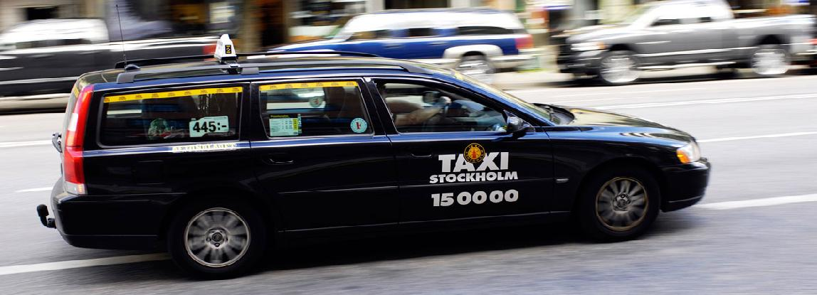 Taxi in Stockholm